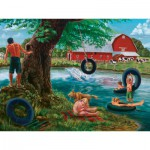 Puzzle  Cobble-Hill-52029 XXL Teile - Badetag