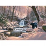 Puzzle  Cobble-Hill-52113 XXL Teile - Mark Keathley: Black Bear Brook