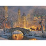 Puzzle  Cobble-Hill-52114-85041 XXL Teile - Mark Keathley: Winter in the Park