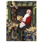 Puzzle  Cobble-Hill-52116 XXL Teile - Santa's Workbench