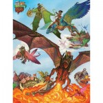 Puzzle  Cobble-Hill-54593 XXL Teile - Dragon Flight