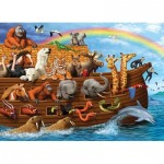 Puzzle  Cobble-Hill-54633 XXL Teile - Voyage of the Ark