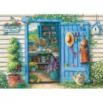 Puzzle  Cobble-Hill-57141 XXL Teile - Welcome to My Garden
