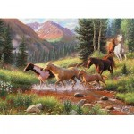 Puzzle  Cobble-Hill-70051 Jack Pine - Mountain Thunder