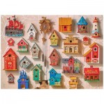 Puzzle  Cobble-Hill-80152 Puz Cuckoo & Friends