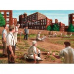 Puzzle  Cobble-Hill-80161 Old Time Baseball