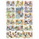 Puzzle  Cobble-Hill-80274 Bicycles