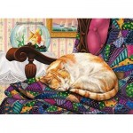 Puzzle  Cobble-Hill-80315 Sweet Dreams