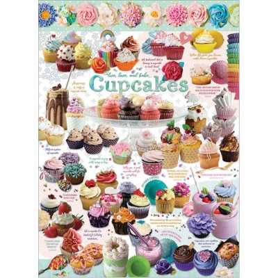 Puzzle Cobble-Hill-80322 Cupcake Time