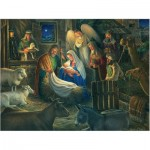 Puzzle  Cobble-Hill-85040 XXL Teile - Away in a Manger
