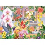 Puzzle  Cobble-Hill-85061 XXL Teile - Hummingbird Magic