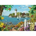Puzzle  Cobble-Hill-85076 XXL Teile - By the Bay