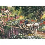 Puzzle  Cobble-Hill-88028 XXL Teile - Carriage Ride