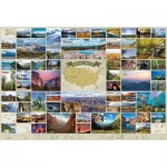 Puzzle  Cobble-Hill-89012 National Parks of the United States