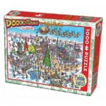 Puzzle   DoodleTown: 12 Days of Christmas