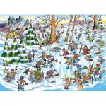 Puzzle   DoodleTown: Hockey Town