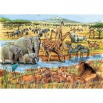 Puzzle   Out of Africa