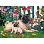 Puzzle   Pug Family