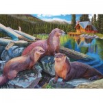 Puzzle   River Otters