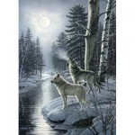 Puzzle   Wolves by Moonlight