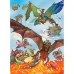 Puzzle   XXL Teile - Dragon Flight