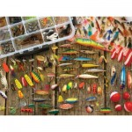 Puzzle   XXL Teile - Fishing Lures