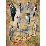 Puzzle   XXL Teile - Notable Woodpeckers