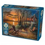 Puzzle   XXL Teile - Fireside