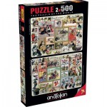 2 Puzzles - Cute Kittens & Comical Dogs