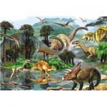 Puzzle  Perre-Anatolian-3288 Das Tal der Dinosaurier
