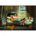 Puzzle  Perre-Anatolian-3900 Home Sweet Home