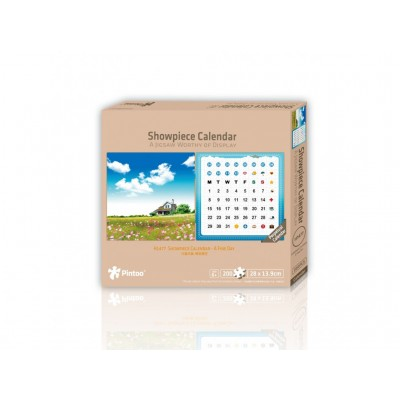 Pintoo-H1477 Puzzle-Kalender - A Fine Day
