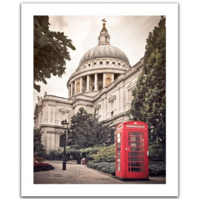 Pintoo-H1535 Puzzle aus Kunststoff - St Paul's Cathedral, England