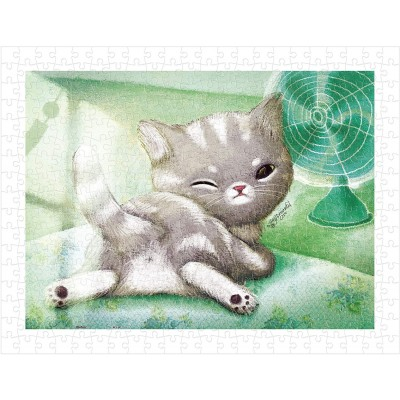 Pintoo-H1594 Puzzle aus Kunststoff - A Chilly Day