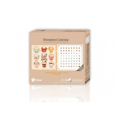 Pintoo-H1707 Puzzle-Kalender - Coffee Time