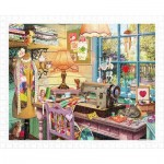Pintoo-H1931 Puzzle aus Kunststoff - Steve Read - Sewing Shed
