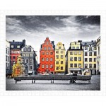 Pintoo-H1937 Puzzle aus Kunststoff - The Old Town of Stockholm, Sweden