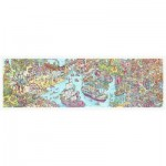 Pintoo-H1954 Puzzle aus Kunststoff - Tom Parker - Dino City and Bay