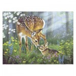 Pintoo-H2067 Puzzle aus Kunststoff - Abraham Hunter - Forest Friends
