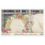 Pintoo-H2150 Puzzle aus Kunststoff - Cotton Lion - Goodnight Polar Bear