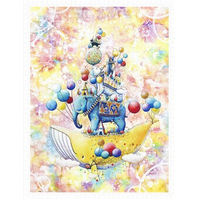 Puzzle Pintoo-H2321 Yosi - Happy World