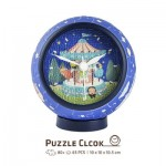 Pintoo-KC1003 3D Puzzle Clock - Young Heart