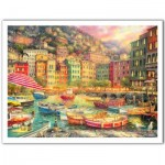 Puzzle aus Kunststoff - Chuck Pinson - Vibrance of Italy