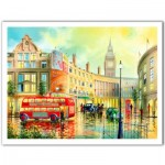 Puzzle aus Kunststoff - Ken Shotwell - Morning in London