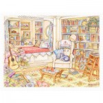 Puzzle aus Kunststoff - Kim Jacobs - Undisturbed in The Study