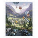 Puzzle aus Kunststoff - Michael Young - Up Up and Away