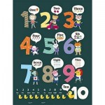 Pintoo-T1025 Puzzle aus Kunststoff - Learning To Count