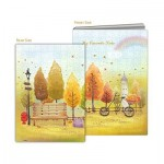 Pintoo-Y1025 Puzzle Cover - Colorful Autumn