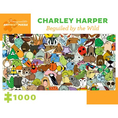 Puzzle Pomegranate-AA1019 Charley Harper - Beguiled by Wild