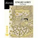 Puzzle  Pomegranate-AA1068 Edward Gorey - Cat Fancy